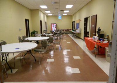 Community Center Hallway